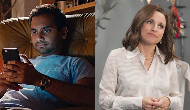 Aziz Ansari, Master of None; Julia Louis-Dreyfus, Veep