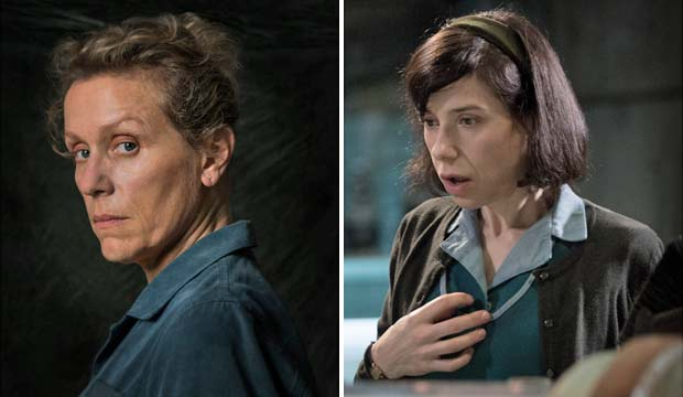 Three Billboards Outside Ebbing Missouri and The Shape of Water