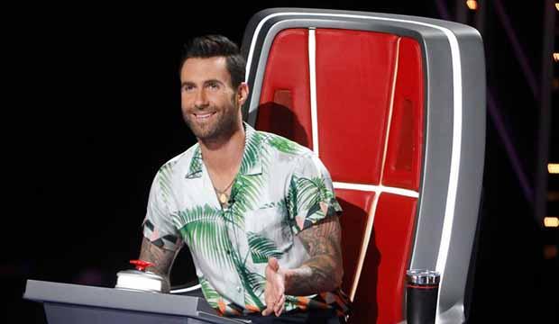 Adam Levine The Voice Season 14