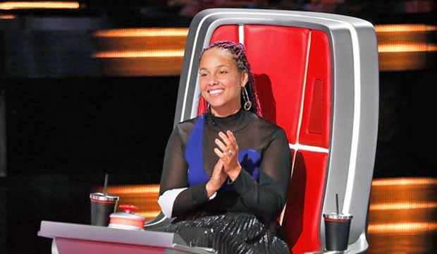 Alicia Keys The Voice Season 14