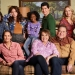 Roseanne Revival Season 10 Cast on Couch