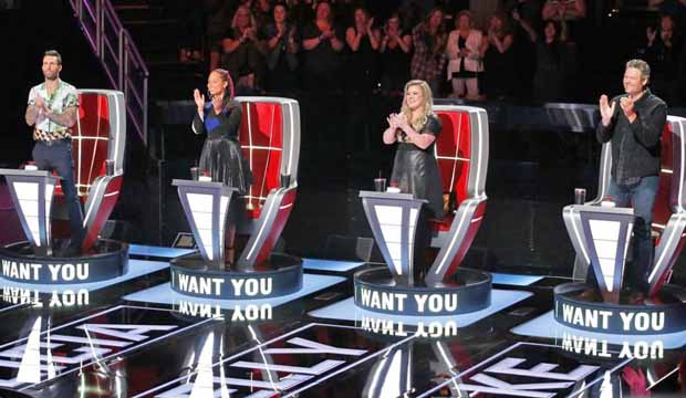 The Voice Blind Auditions Coaches