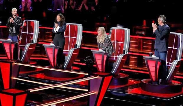Voice Coaches Season 14 Battle Round