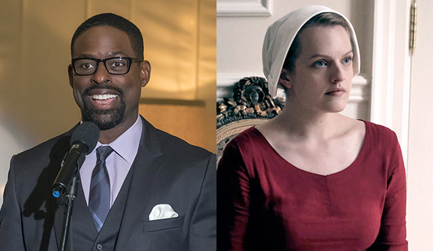 Sterling K. Brown, This Is Us; Elisabeth Moss, The Handmaid's Tale