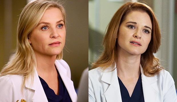 Jessica Capshaw and Sarah Drew, Grey's Anatomy
