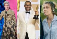 Frances McDormand Jordan Peele and Greta Gerwig Oscars 2018
