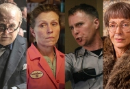 Gary Oldman, Darkest Hour; Frances McDormand, Three Billboards Outside Ebbing, Missouri; Sam Rockwell, Three Billboards Outside Ebbing, Missouri; Allison Janney, I, Tonya