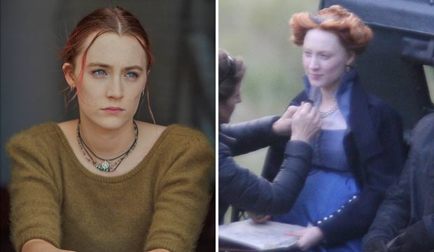 Saoirse Ronan in Lady Bird and Mary Queen of Scots