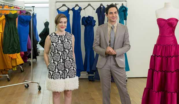 Zac Posen and Alyssa Milano Project Runway All Stars