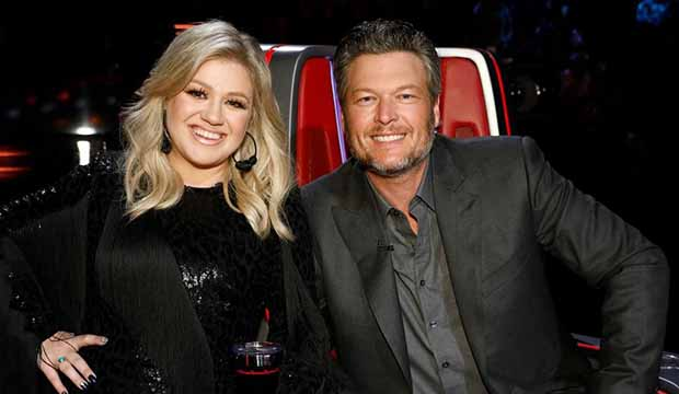 'The Voice' Season 17 spoilers: Kelly Clarkson spills the beans on 'lovebirds' Blake Shelton and Gwen Stefani — 'She reels the cowboy in!'