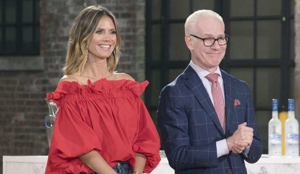 Project Runway Hosts Heidi Klum Tim Gunn