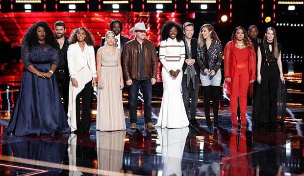 The Voice Top 12 April 23 Season 14