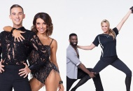 Adam Rippon and Jenna Johnson; Keo Motsepe and Jennie Finch Daigle, Dancing with the Stars: Athletes