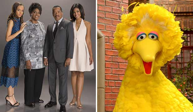 The Bold and the Beautiful and Sesame Street