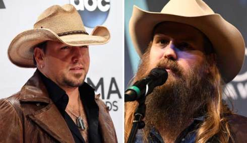 Jason Aldean and Chris Stapleton