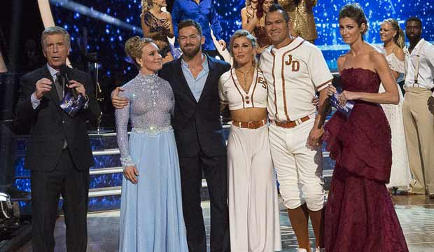 Jamie Anderson and Johnny Damon eliminated from Dancing with the Stars Athletes dwts