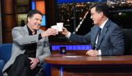 James Comey on The Late Show with Stephen Colbert