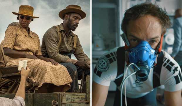 Netflix films Mudbound and Icarus
