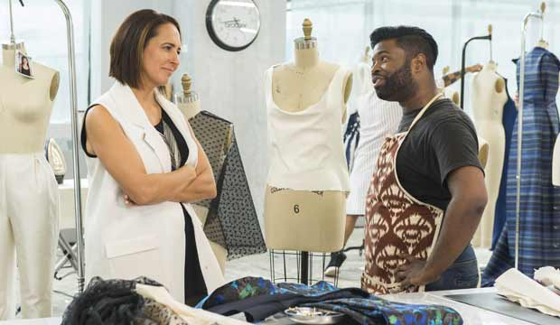 Anthony Williams and Anne Fulenwider Project Runway All Stars