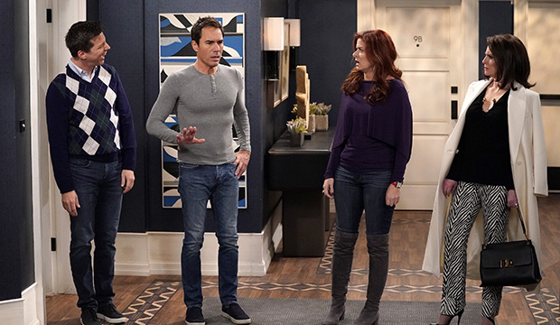 Sean Hayes, Eric McCormack, Debra Messing and Megan Mullally, Will & Grace