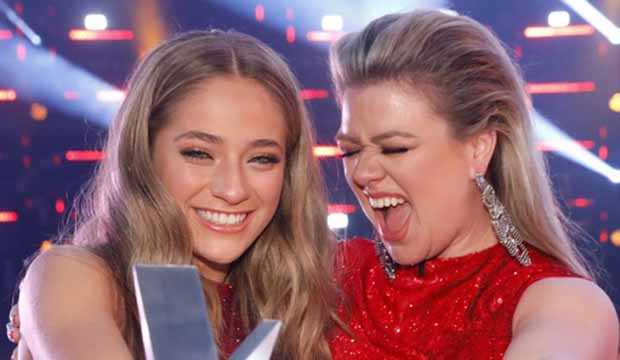 Brynn Cartelli Kelly Clarkson The Voice Season 14 Champion