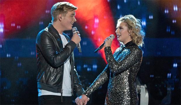 Caleb and maddie dating on american idol