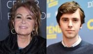 Roseanne Barr Freddie Highmore Emmys ABC