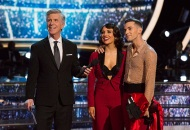 Tom Bergeron, Jenna Johnson and Adam Rippon, Dancing with the Stars: Athletes