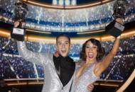 Adam Rippon wins the Mirror Ball Trophy on Dancing with the Stars Athletes dwts