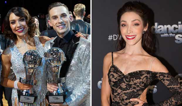 Adam Rippon and Meryl Davis Dancing with the Stars