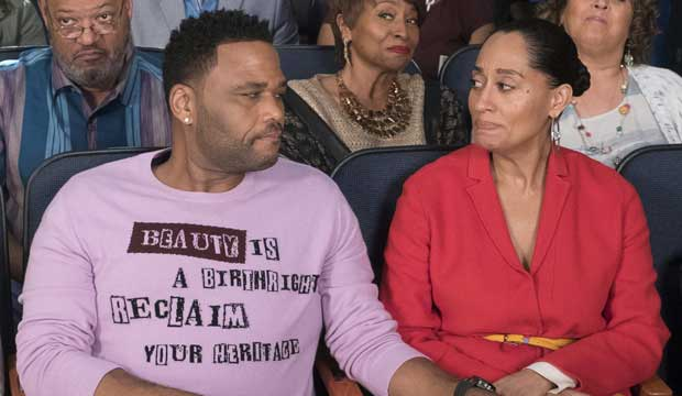 Anthony Anderson and Tracee Ellis Ross Black-ish