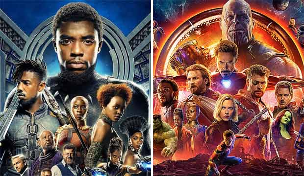 Black Panther and Avengers Infinity War