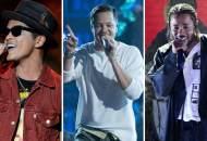 Bruno Mars Imagine Dragons and Kendrick Lamar
