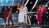 "Jenna Johnson, Adam Rippon, Sharna Burgess, Josh Norman, Tonya Harding and Sasha Farber, ""Dancing with the Stars: Athletes"""