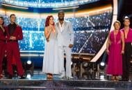 Jenna Johnson, Adam Rippon, Sharna Burgess, Josh Norman, Tonya Harding and Sasha Farber, Dancing with the Stars: Athletes