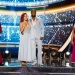 Jenna Johnson, Adam Rippon, Sharna Burgess, Josh Norman, Tonya Harding and Sasha Farber, Dancing with the Stars: Athletes