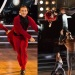 Jenna Johnson, Adam Rippon; Sharna Burgess, Josh Norman, Dancing with the Stars: Athletes