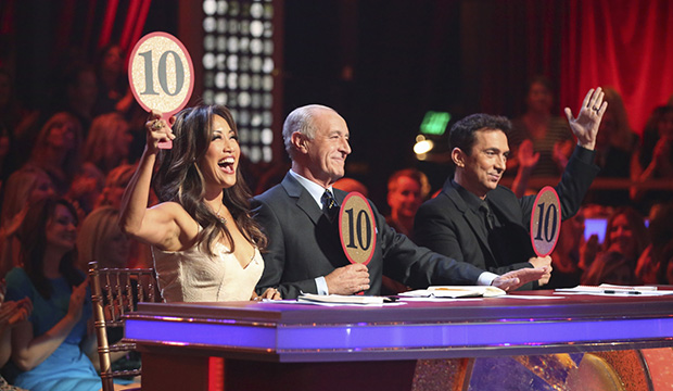 Carrie Ann Inaba, Len Goodman and Bruno Tonioli, Dancing with the Stars