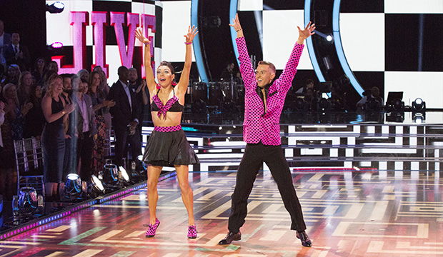 Jenna Johnson and Adam Rippon, Dancing with the Stars: Athletes