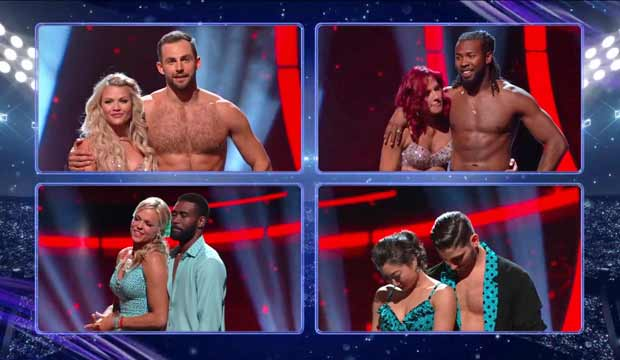 Dancing with the Stars Athletes elimination