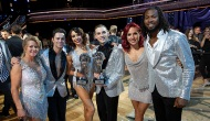 Tonya Harding, Sasha Farber, Jenna Johnson, Adam Rippon, Sharna Burgess and Josh Norman, Dancing with the Stars: Athletes
