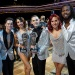 Tonya Harding, Sasha Farber, Jenna Johnson, Adam Rippon, Sharna Burgess and Josh Norman, Dancing with the Stars: Athletes