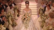 fran drescher wedding dress the nanny