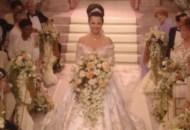 fran drescher wedding dress the nanny