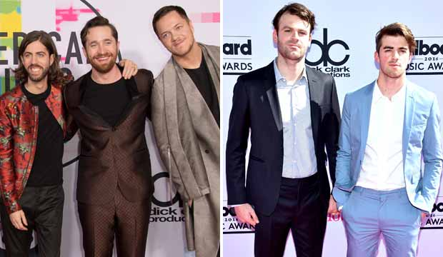 Imagine Dragons and The Chainsmokers