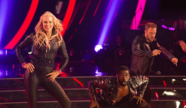 Jennie Finch explains song change on Dancing with the Stars