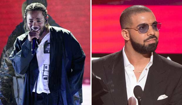 Kendrick Lamar and Drake