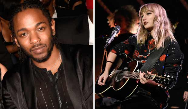 Kendrick Lamar and Taylor Swift