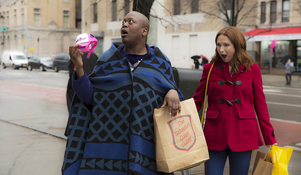 Tituss Burgess and Ellie Kemper, Unbreakable Kimmy Schmidt