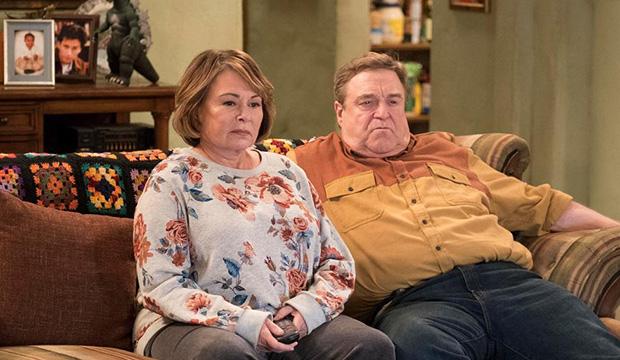 Roseanne Barr and John Goodman, Roseanne